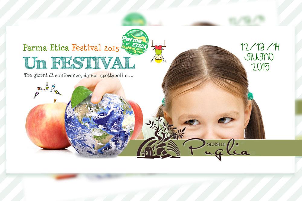 PARMA ETICA FESTIVAL (12-14 GIUGNO 2015), SENSI DI PUGLIA TRA GLI ESPOSITORI